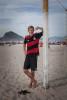 RIO DE JANEIRO, BRAZIL - JUNE 29 : Marius Purschke on June 29, 1014, on Copacabana beach in Rio de Janeiro, Brazil. (Photo by Kim Badawi/Global Assignment by Getty Images for Der Spiegel )