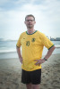 RIO DE JANEIRO, BRAZIL - JUNE 29 : Alex Schneichel, on June 29, 1014, on Copacabana beach in Rio de Janeiro, Brazil. (Photo by Kim Badawi/Global Assignment by Getty Images for Der Spiegel )