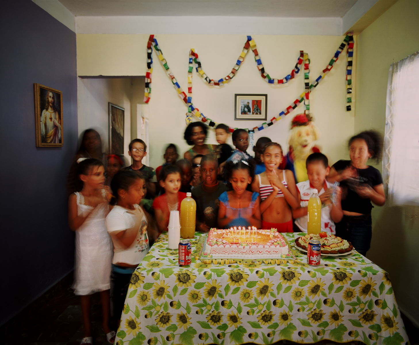 On December 26th, 2009, Daniella celebrates her seventh birthday amongst family and friends. Cotorro, Havana, Cuba