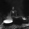 A feminine soul guides lost spirits into her kitchen to find refuge from hunger . . . Nyingtri Prefecture, Tibet