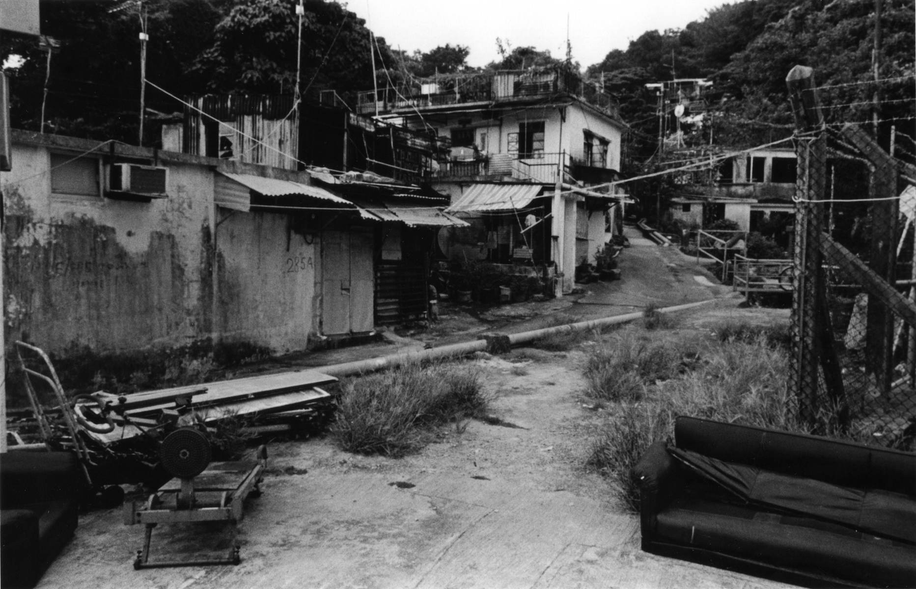A neighborhood in the Lei Yue Mun District of Hong Kong, which is known for its seafood market and fishing villages. Kowloon Peninsula, Hong Kong