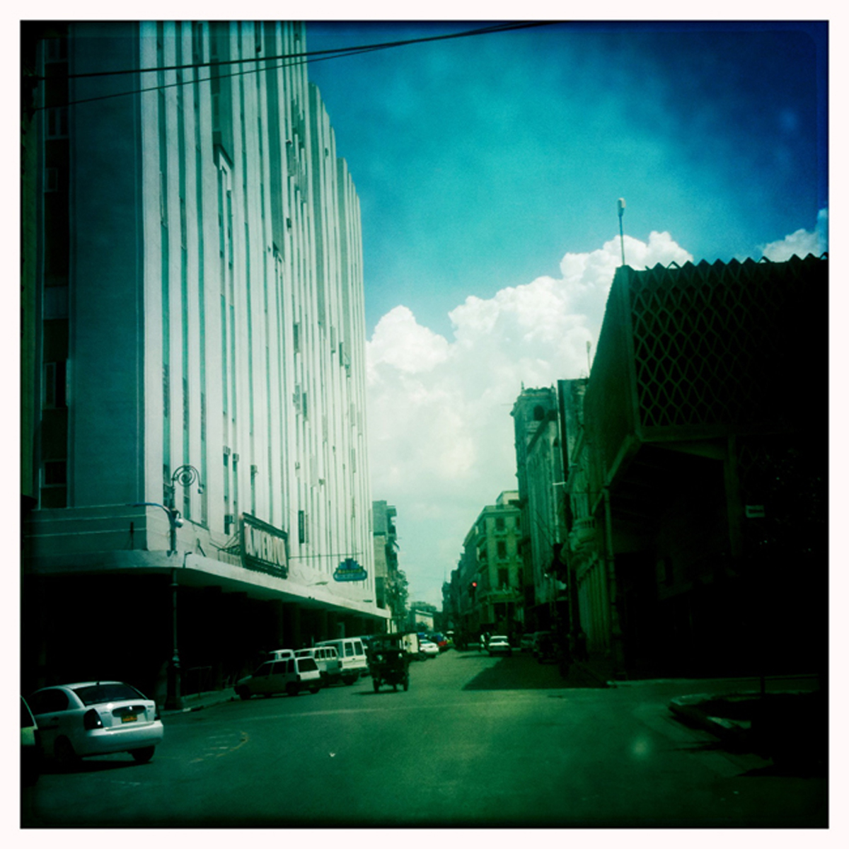 Once, magnificent avenues and boulevards lined the streets by buildings of gradeur and automobiles of movies past.