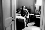 Sister Nina, a Daughter of Charity, sits in her room praying.