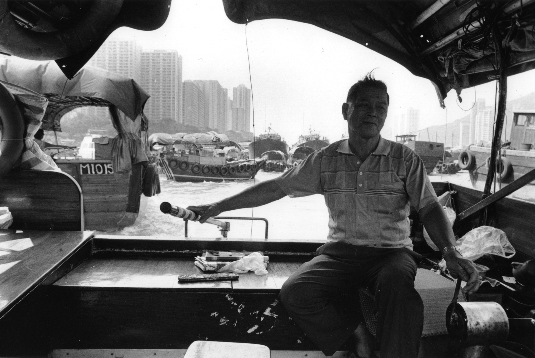 A Tanka villager sells tours around Aberdeen Harbour. Aberdeen Harbour,  located on the south shore of Hong Kong Island, is known for its floating villages and the Tanka people, who are generally associated with the fishing industry. The government of Hong Kong has built high-rise buildings along Aberdeen Harbour to encourage its boat dwelling community to leave their junkets, yet many refuse to trade their way of life for a more modern life-style.Additionally, Hong Kong means {quote}fragrant Harbor{quote} and it was Aberdeen where incense trees from the New Territories used to be transferred for export to other cities in China..Aberdeen Harbour, Hong Kong
