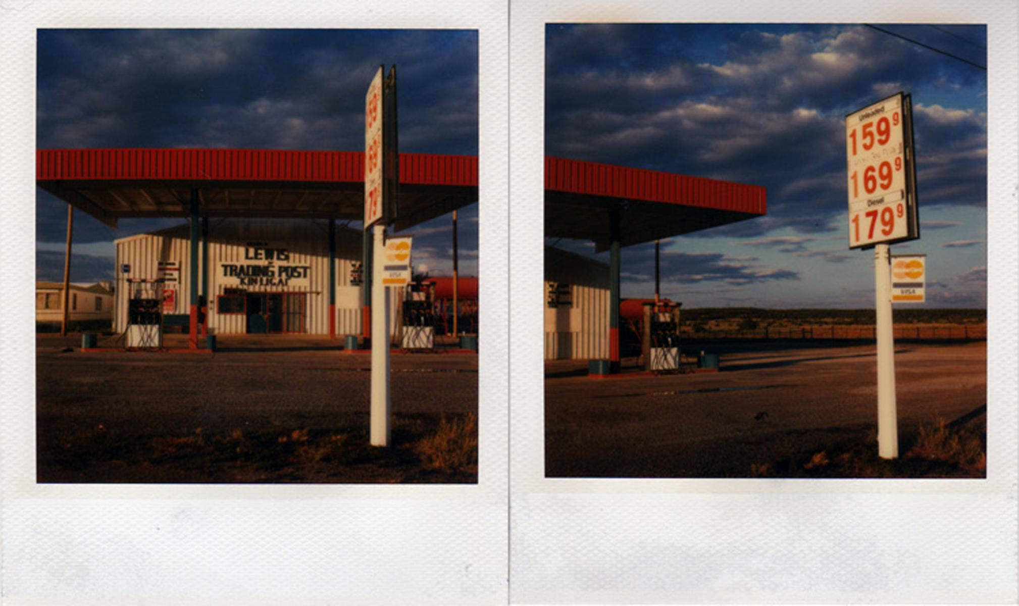 Price of gas, Arizona, 2004.