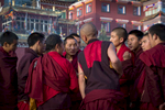 Monks participate in heated debates very evening here just on sunset.  All manner of ideas  are thrown back and fourth, with occasional physical altercations not uncommon.