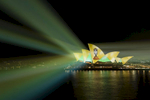 SYDNEY, NEW SOUTH WALES - JANUARY 08:  Green and Gold Ashes Celebrations are projected on the Sydney Opera House on January 8, 2018 in Sydney, Australia. Australia today beat England in the Fifth Test at the SCG to win the Ashes series 4-0.  (Photo by Brook Mitchell/Getty Images)