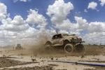 'Hershy' hits the mud. Photo: Brook Mitchell