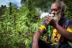 Ayh Bash Anavi (Rastafari community leader). Negril, Jamaica