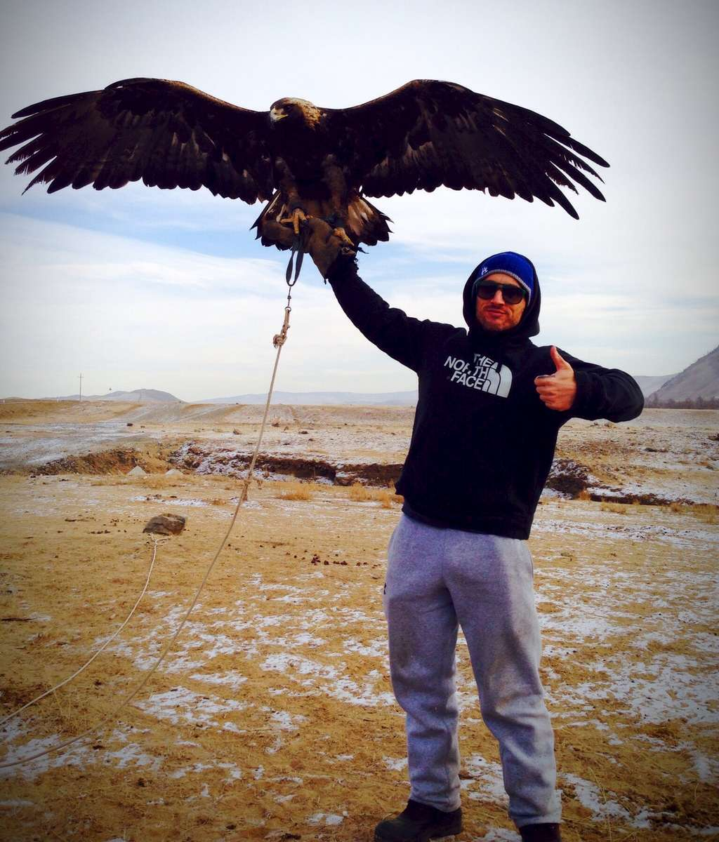 Kazakh Golden Eagle
