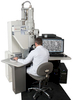 Nanomek brand nanometer-scale electron microscope