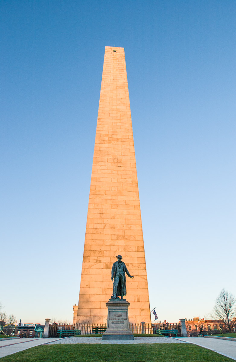 Boston; Bunker Hill, Monument
