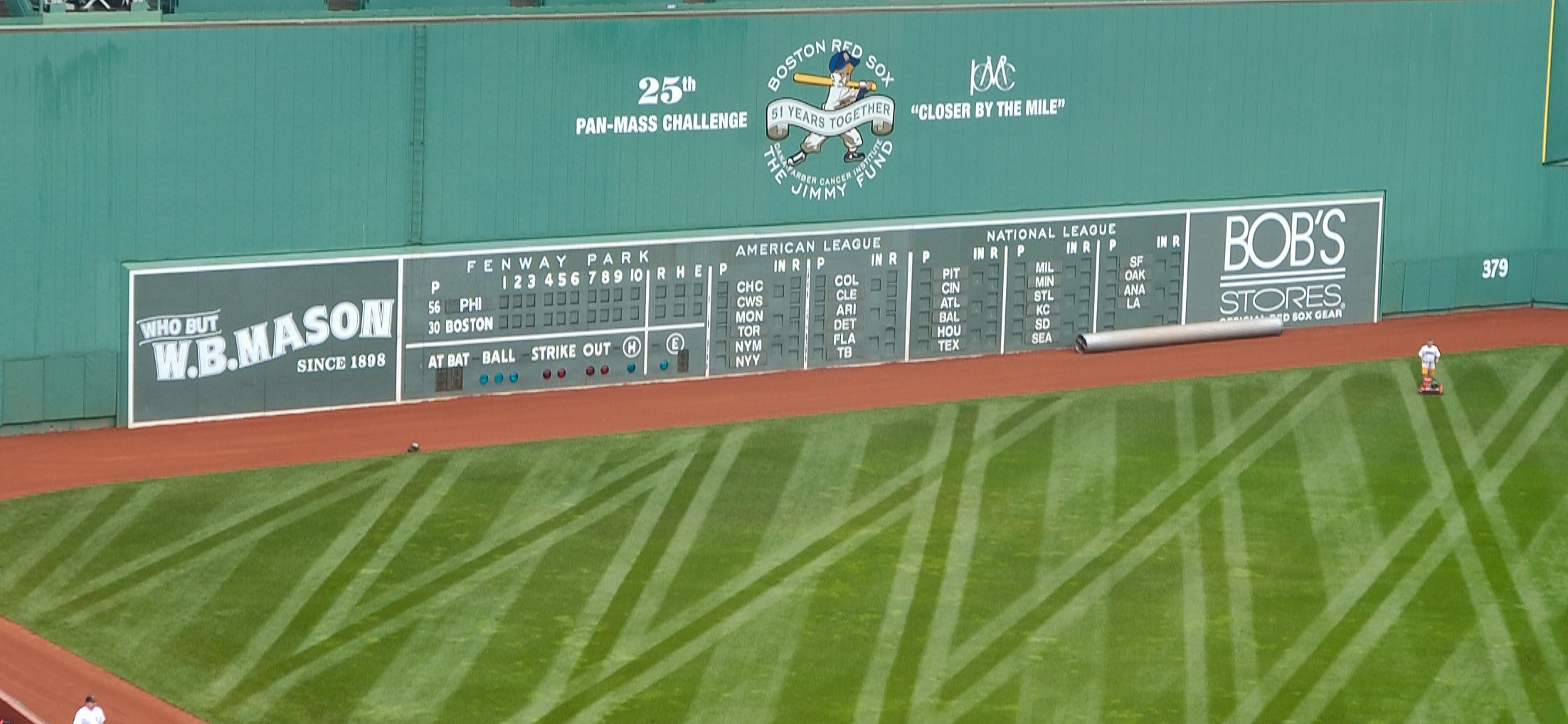 Fenway Park Boston, {quote}Green Monster{quote}