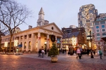 Quincy Market at Dusk