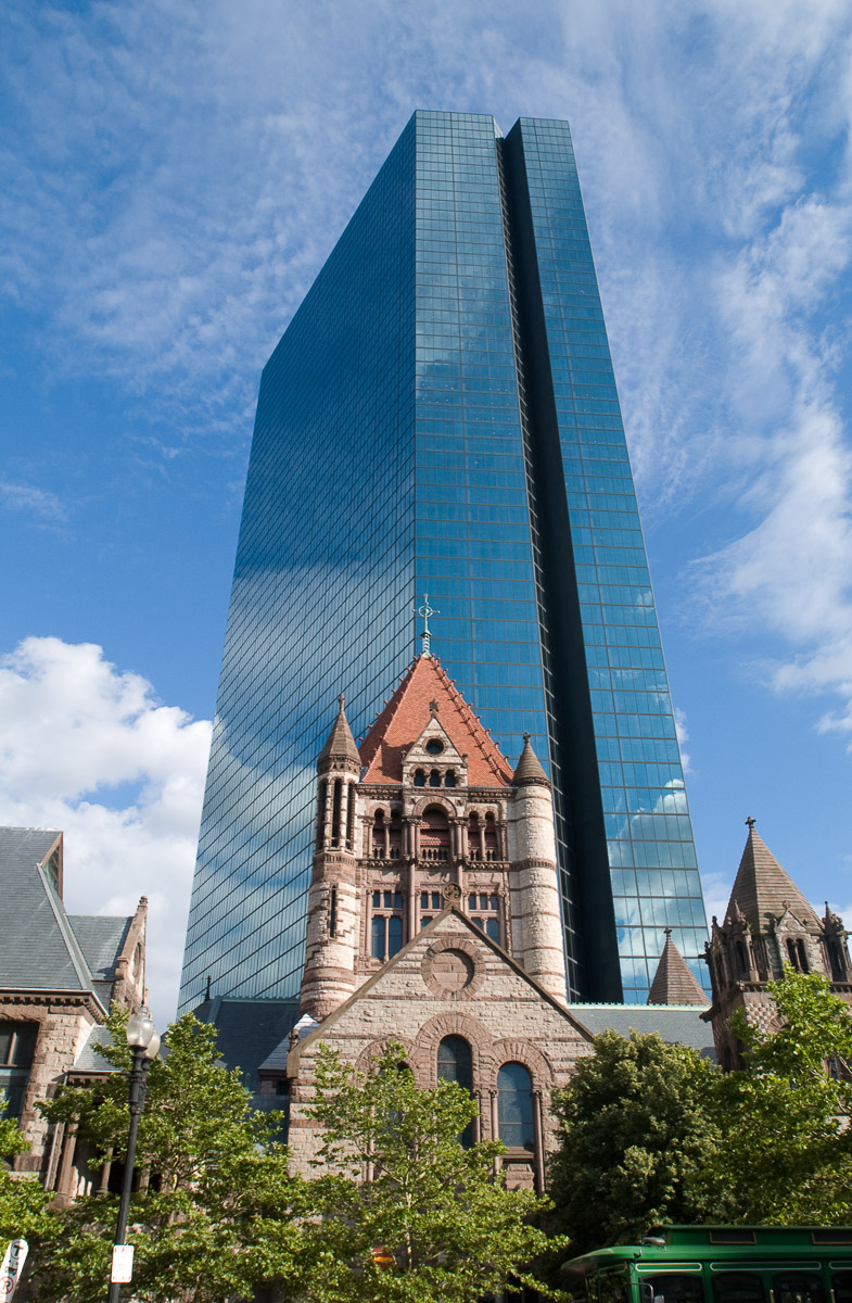 Trinity Church and Hancock Building