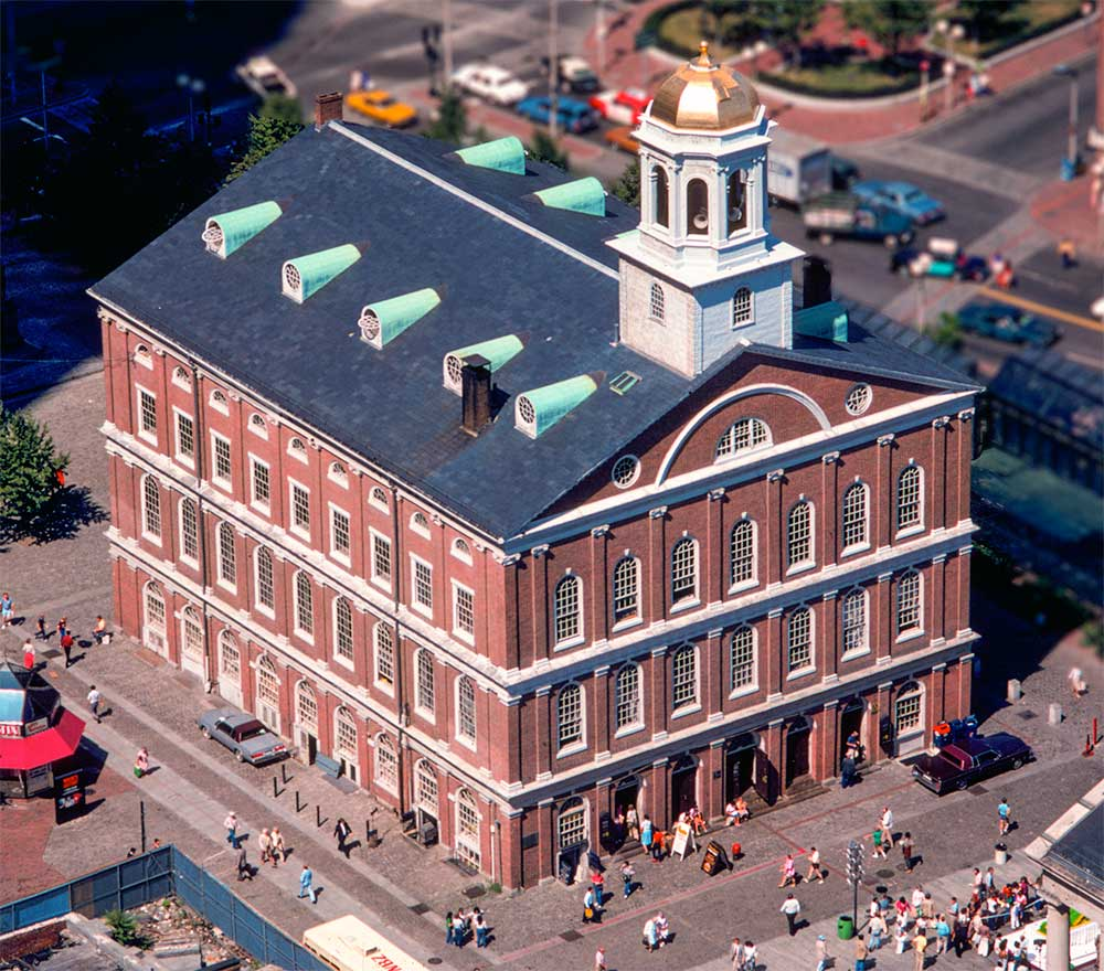 Fanueuil Hall Aerial