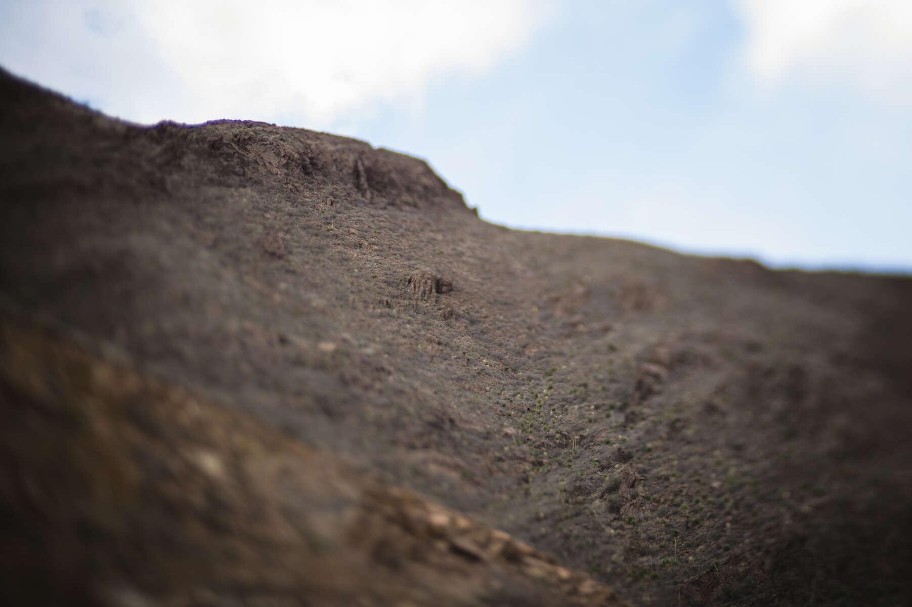 Rocks will fall.