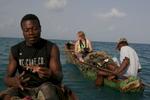 Fishing in Haiti with Sarah