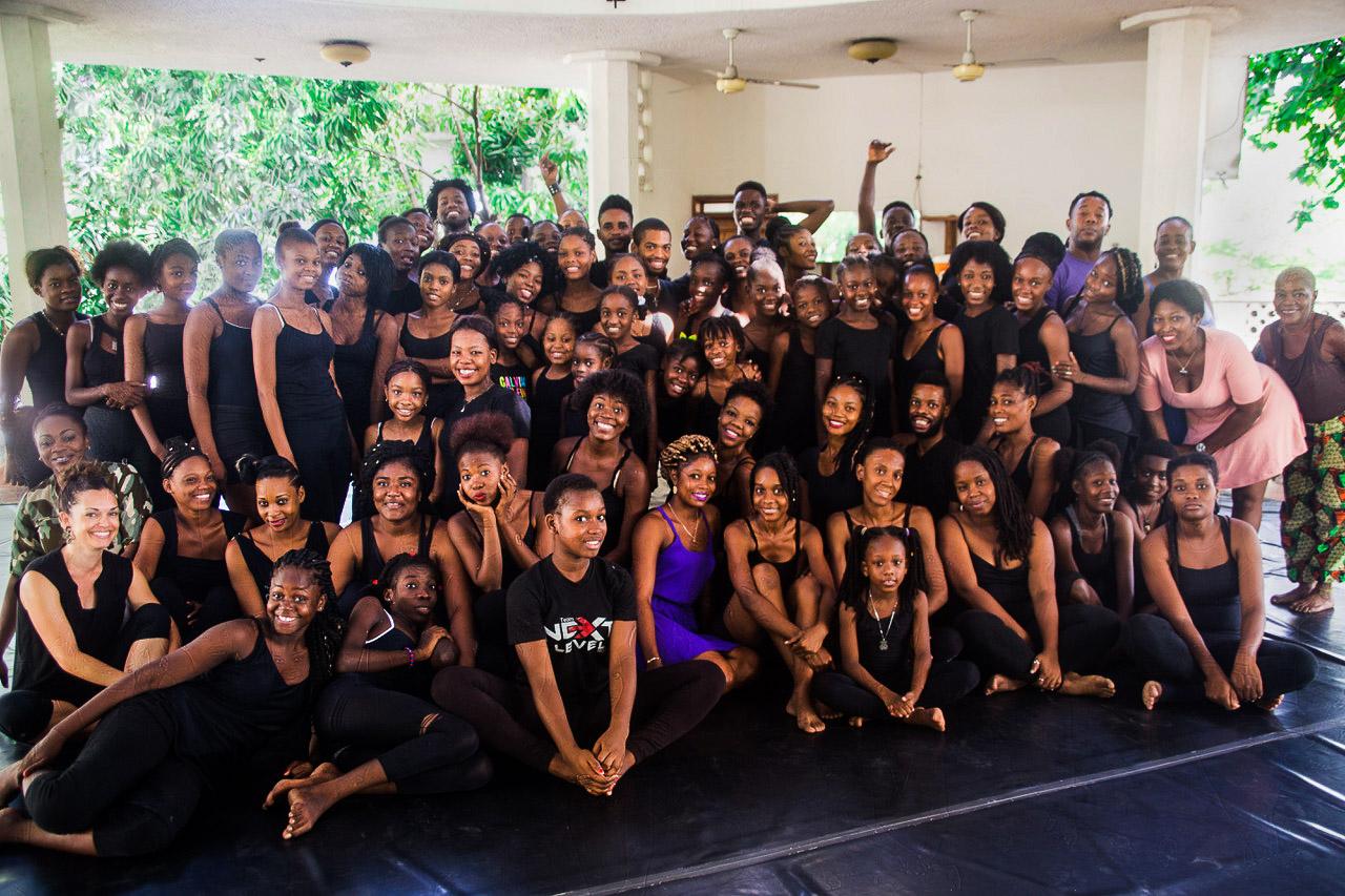 Jean Appolon Dance Class