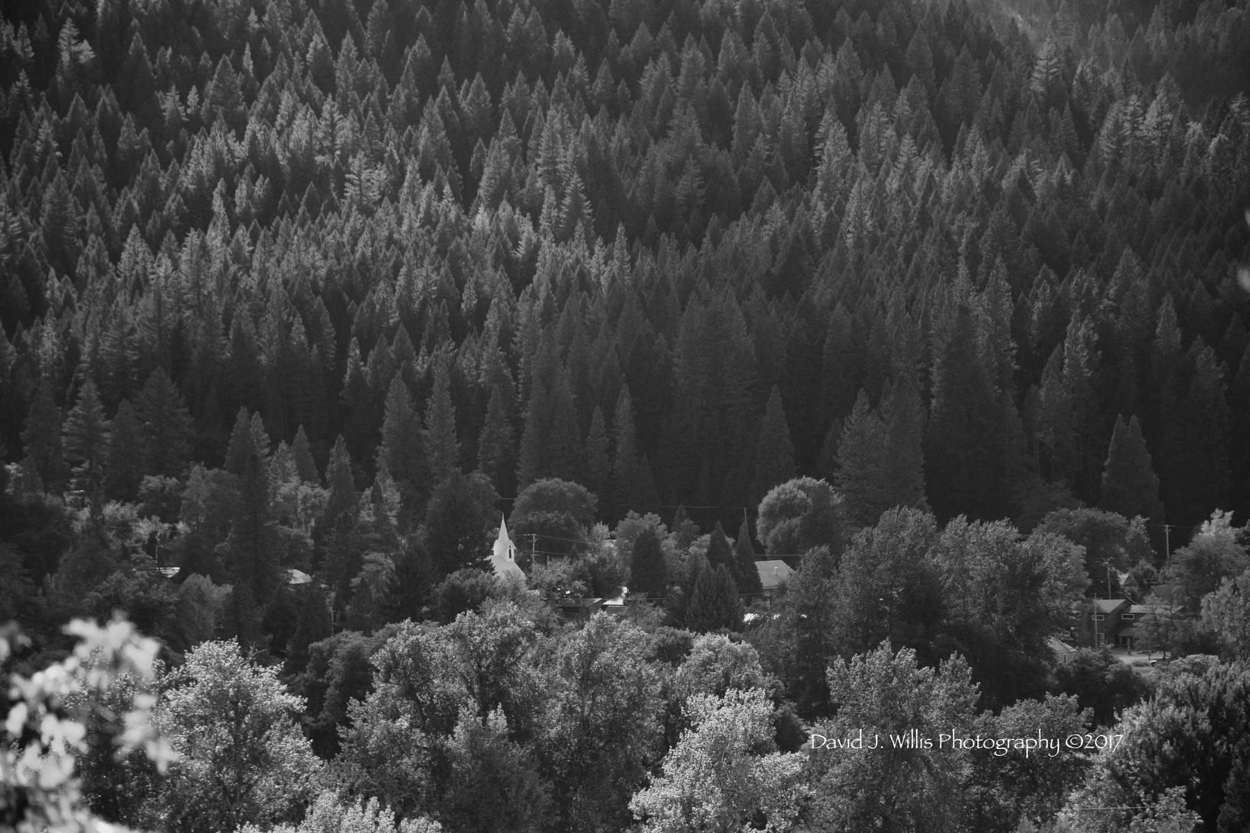 Indian Valley, Church and Tavern, Taylorsville, Plumas County