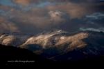 Keddie Ridge, Indian Valley, Winter Snow Scene, Plumas County