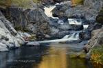 Keddie Cascades, Spanish Creek, Fall, Plumas County