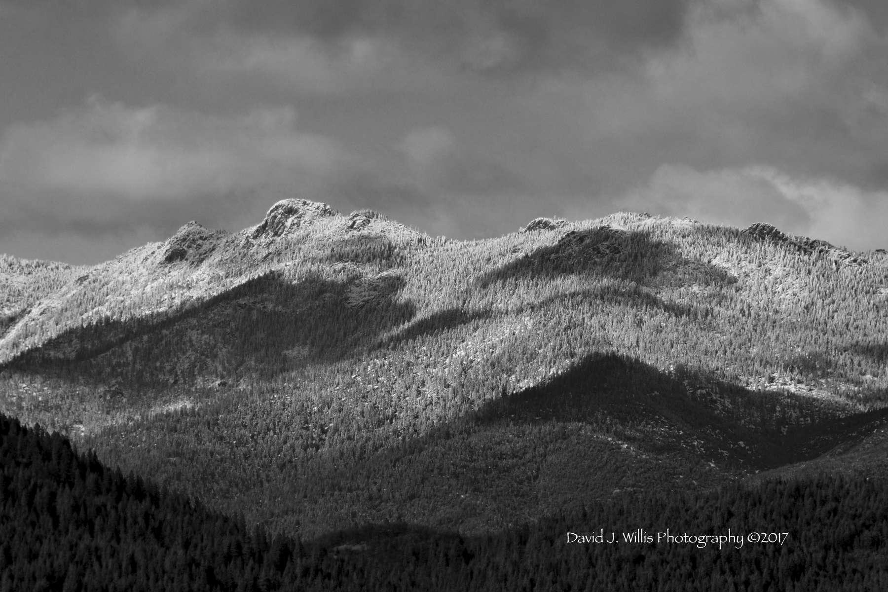Keddie Ridge, Winter, Indian Valley, Snow, Plumas County