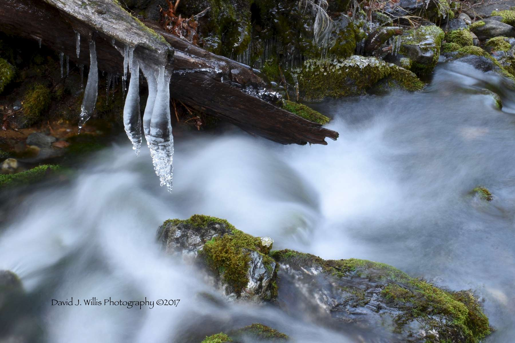 Icicles I, Undisclosed Location, Plumas County