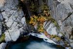 Rocks and Rhubarb at Keddie Cascades II, Fall, Plumas County