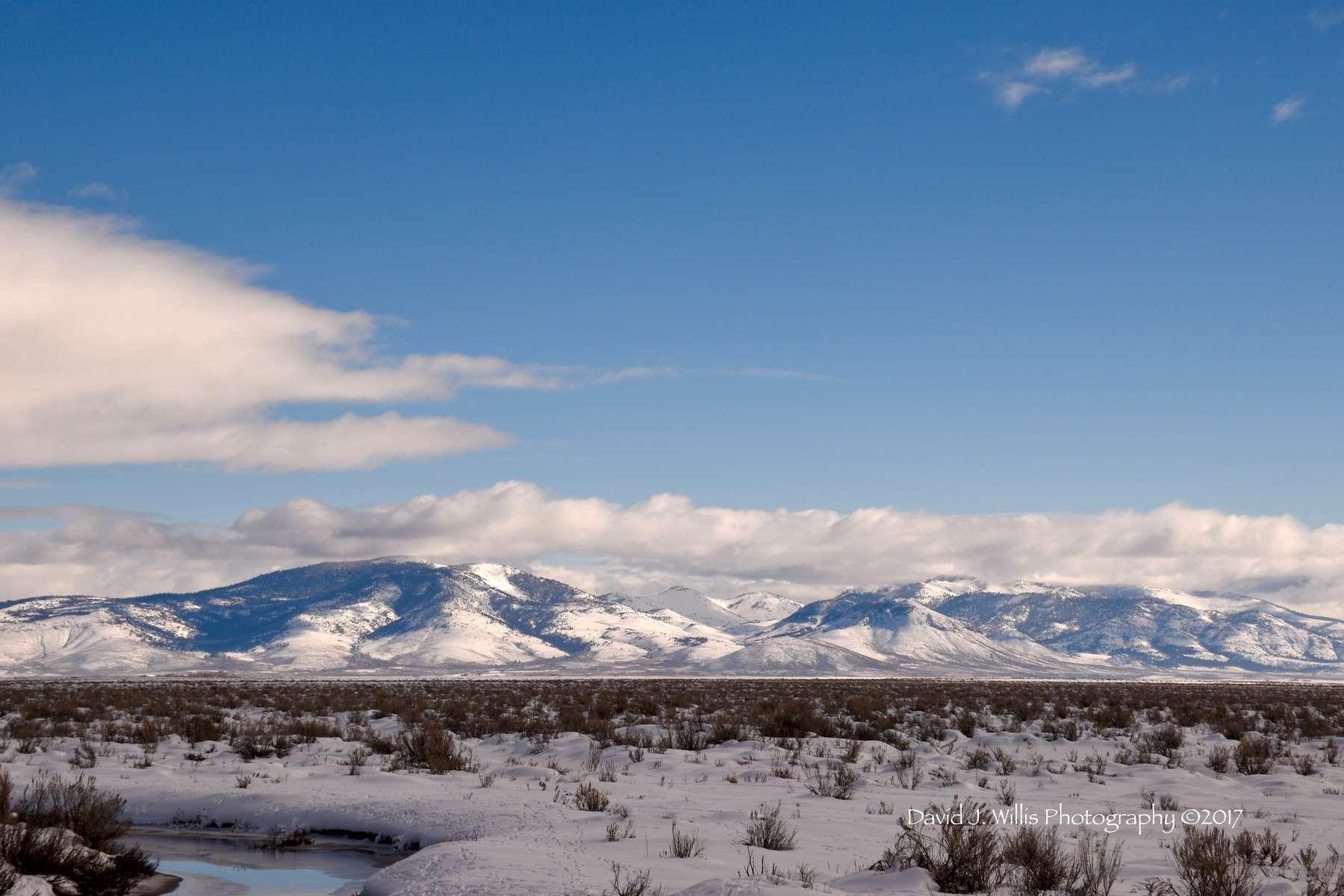 Sierra Valley, Snow, Plumas County