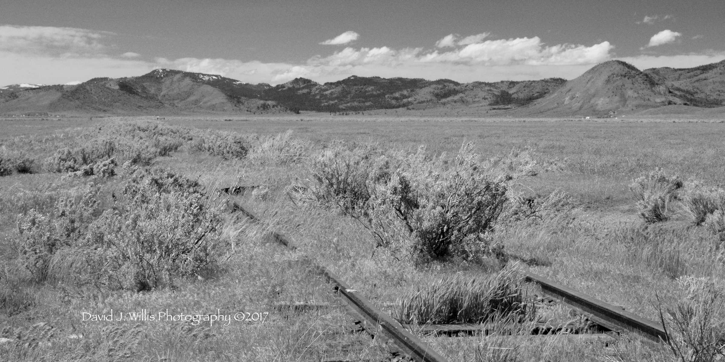 Sierra Valley, A24, Abandoned Tracks IV, Sugar Loaf, Plumas County