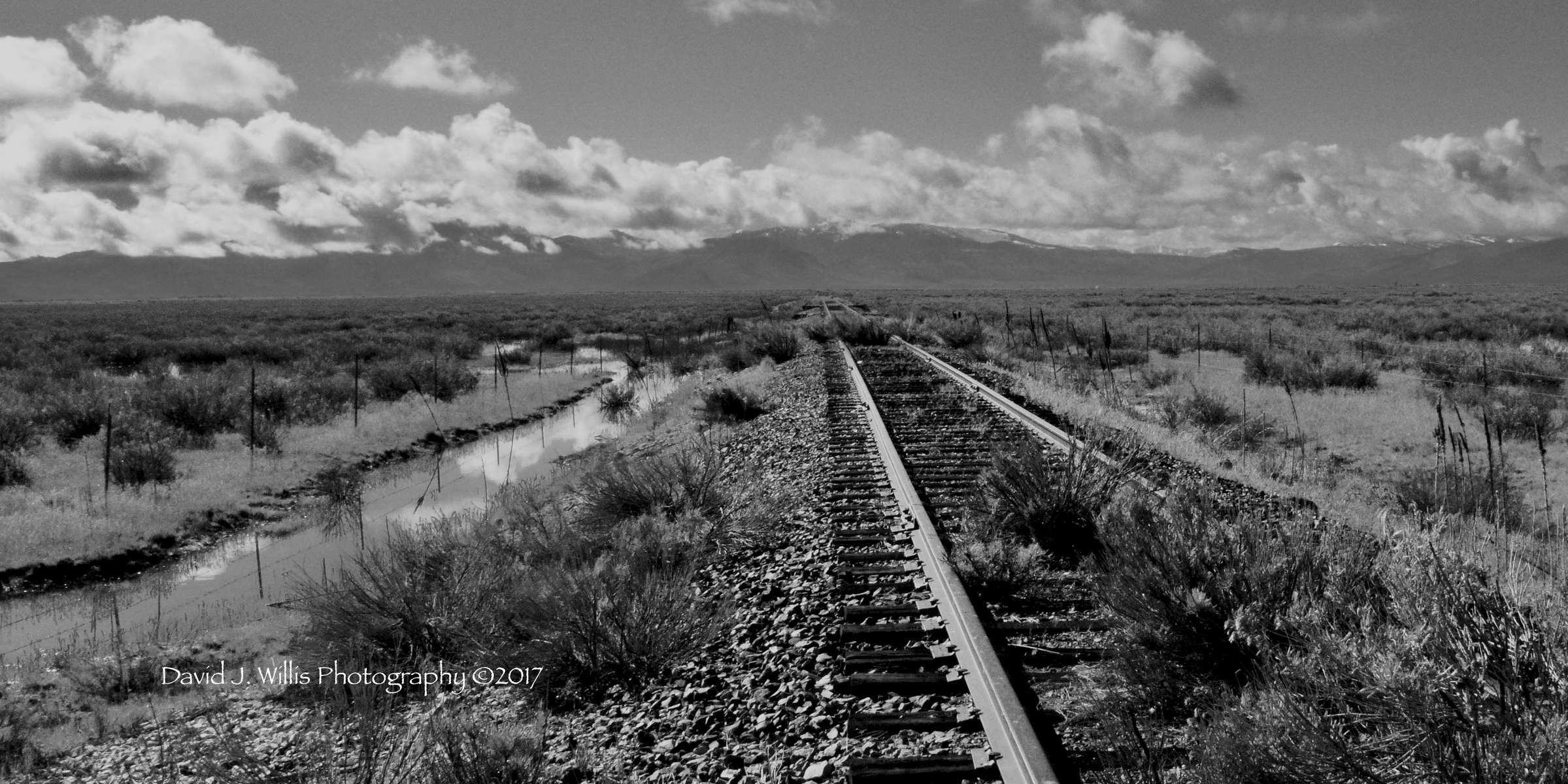 Sierra Valley, Abandoned Tracks II, Plumas County