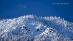 Snowy Ridge, Mount Hough, Indian Valley, Winter, Plumas County