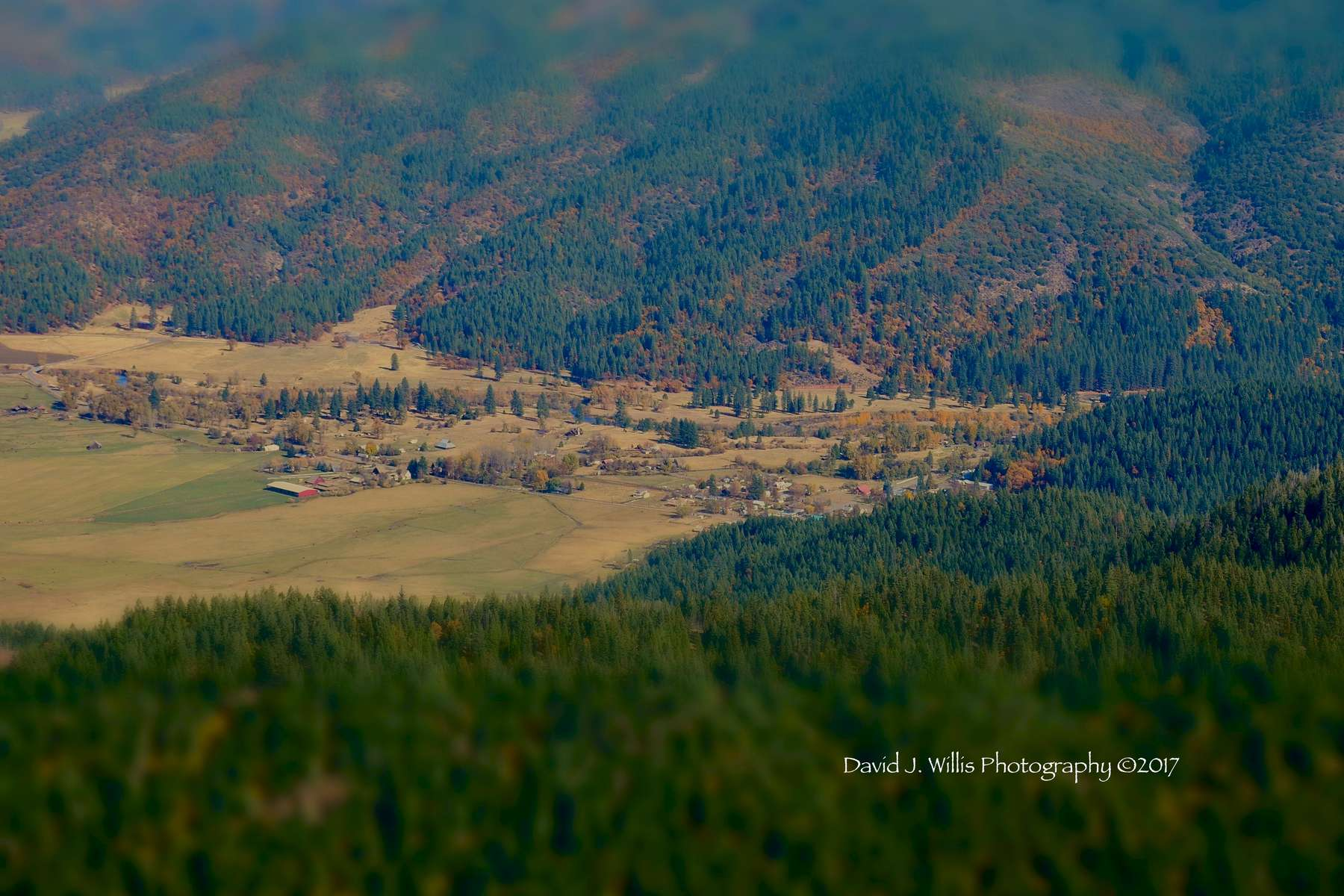 Taylorsville, Indian Valley, Fall, Plumas County.