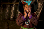 Portrait in a yak-hair tent, Changthang