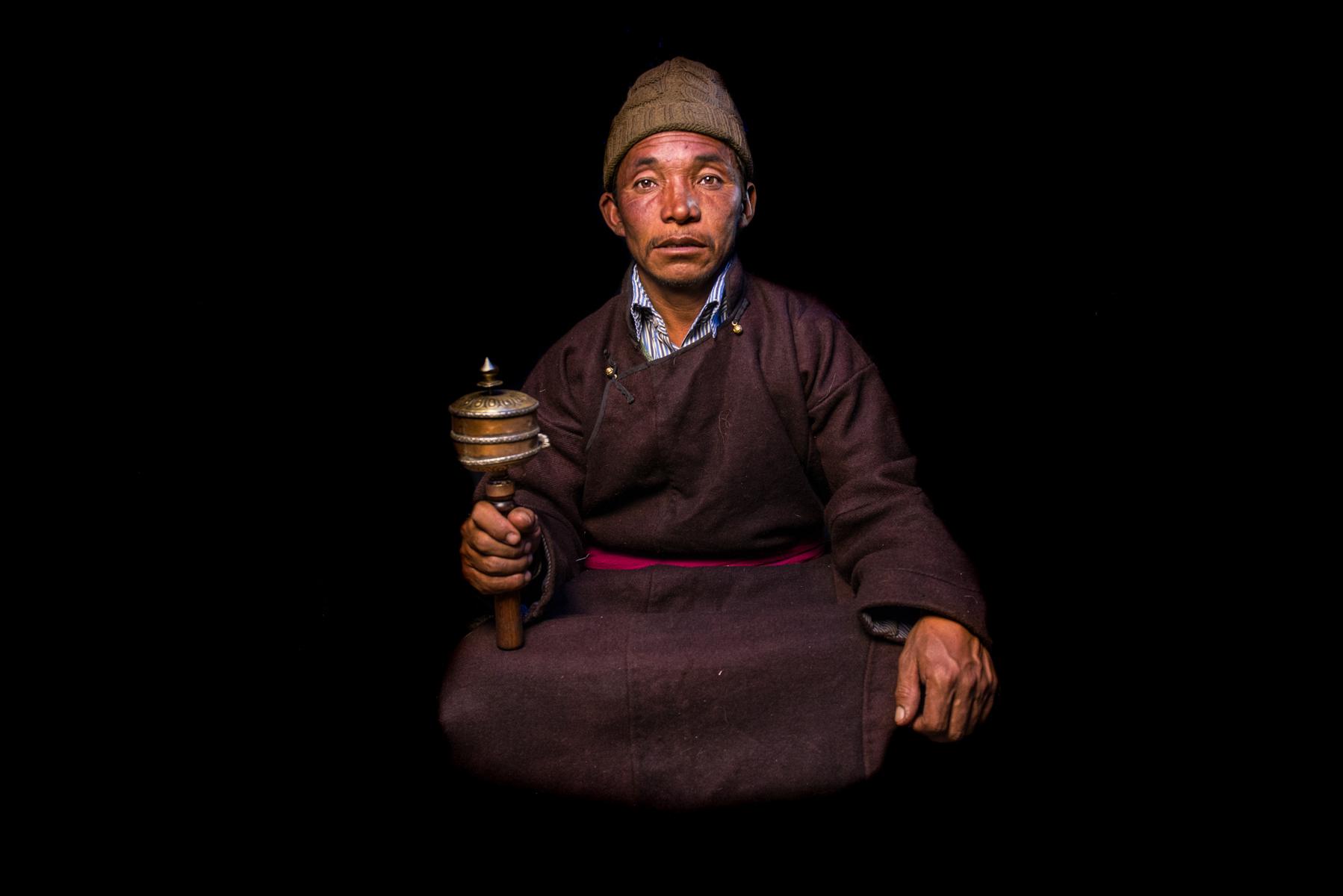 Changpa man, Tso Kar