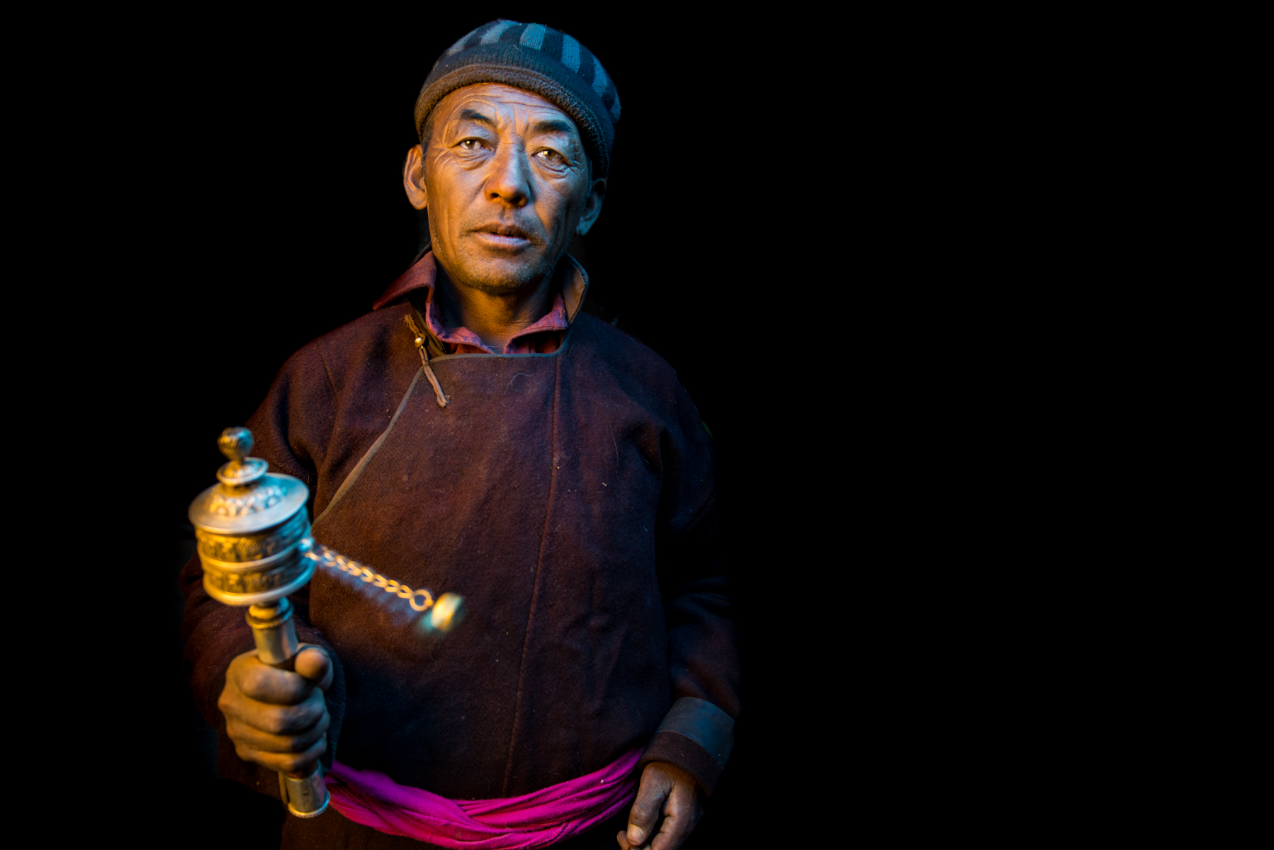 Changpa Man, near Tso Kar Lake