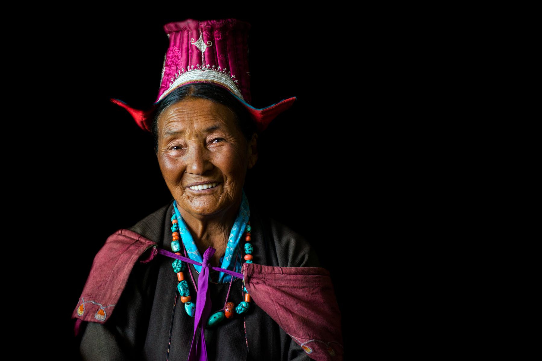 Changpa Lady, Sumur, Nubra Valley