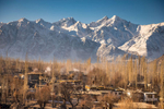 Winter morning in Kyagar, Nubra, Ladakh