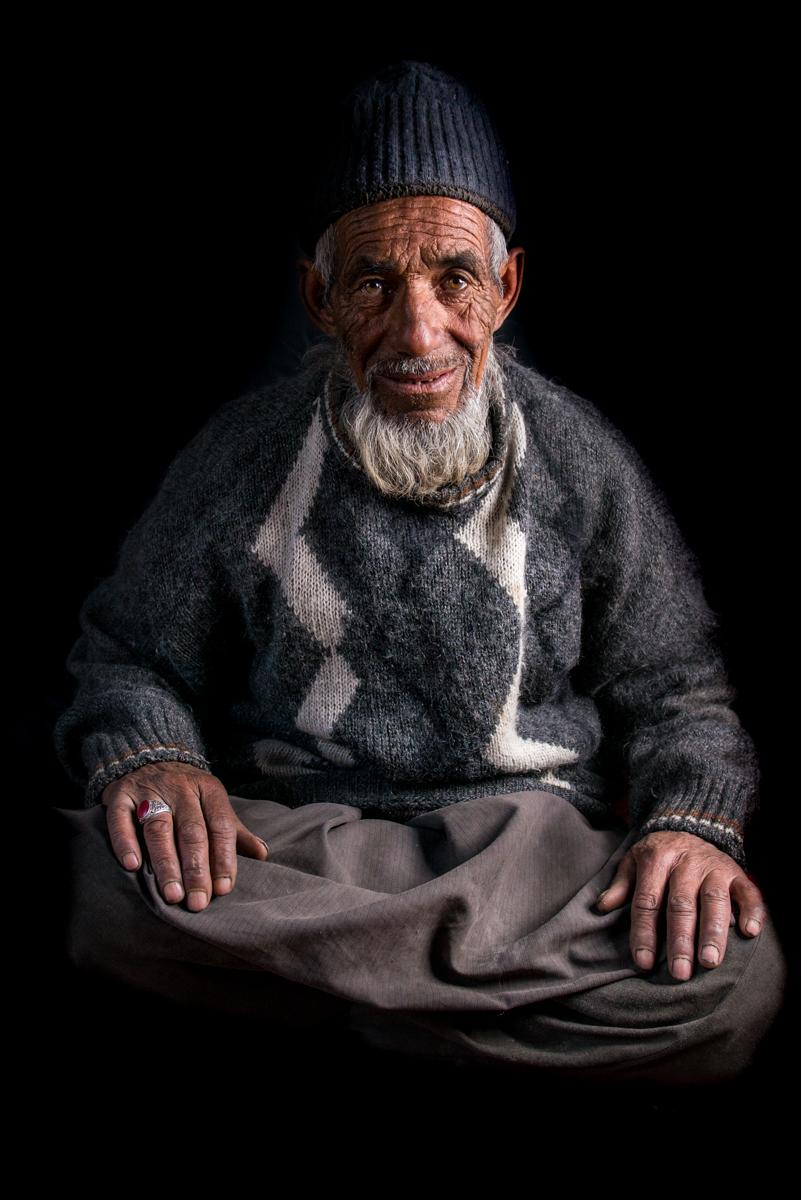 Balti man, Patsathang, Ladakh