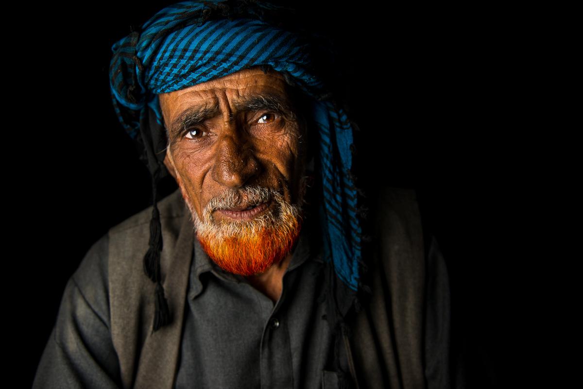 Bakkarwal elder, Peer Ki Gali, Kashmir