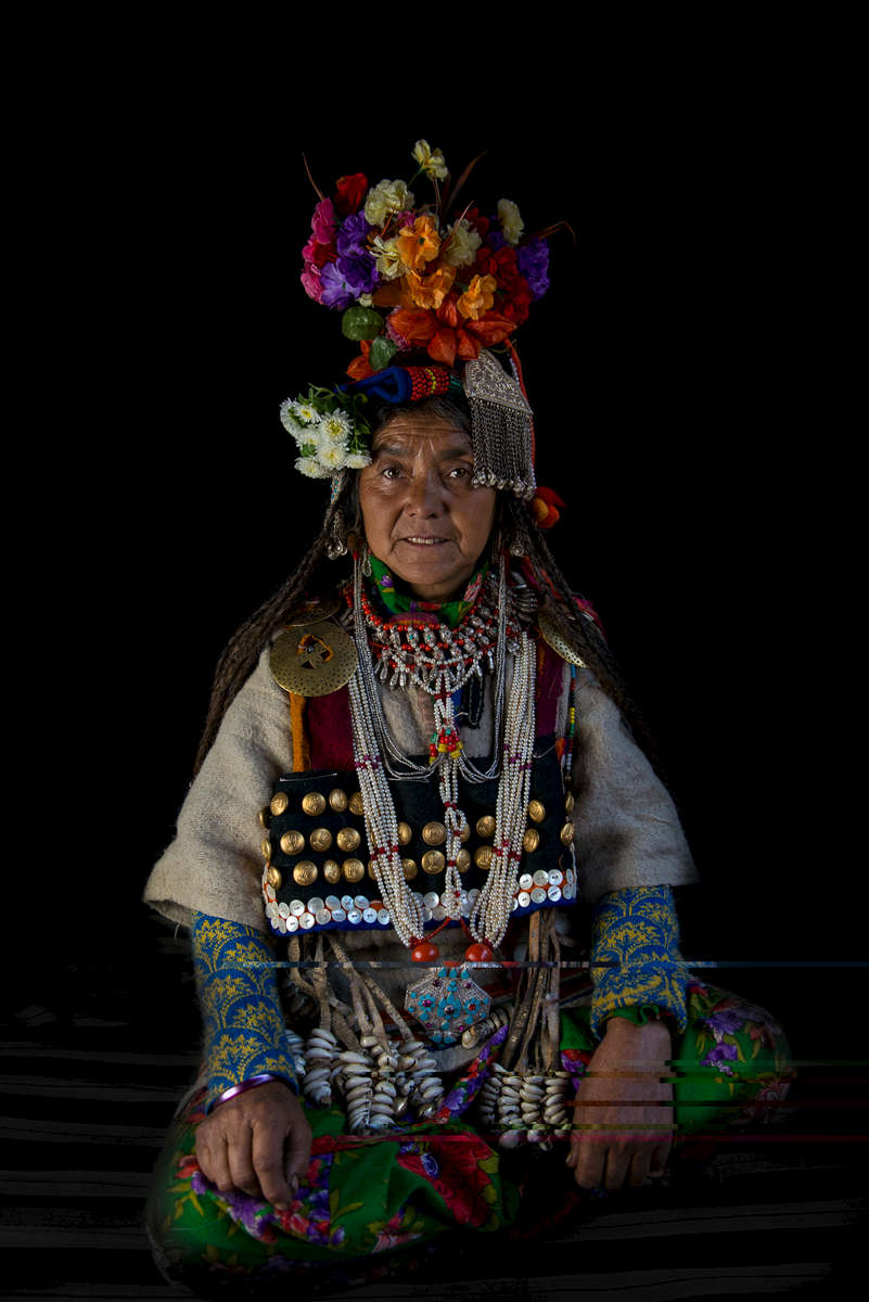 Aryan lady, Batalik Sector, Kargil