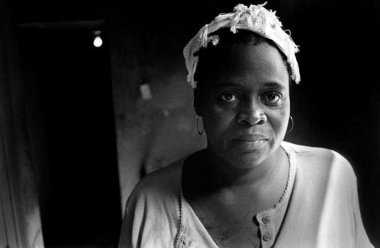 Portrait of a woman in Cap-Haitien, Haiti 2004