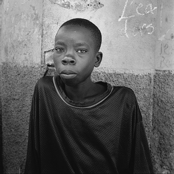 Portrait of a boy. Cap-Haitien, Haiti 2004