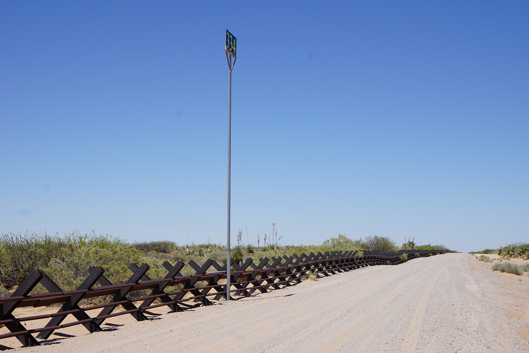 New Mexico/Mexico Border
