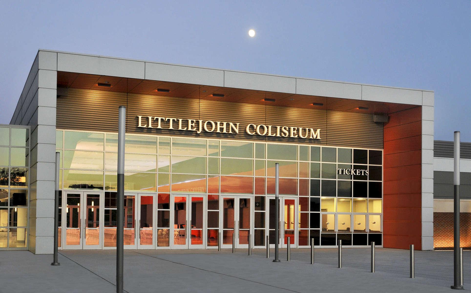 Littlejohn ColiseumClemson UniversityOctober 2016