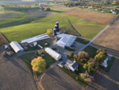 Hess FarmAerial view in autumnWaynesboro PAOctober 2015
