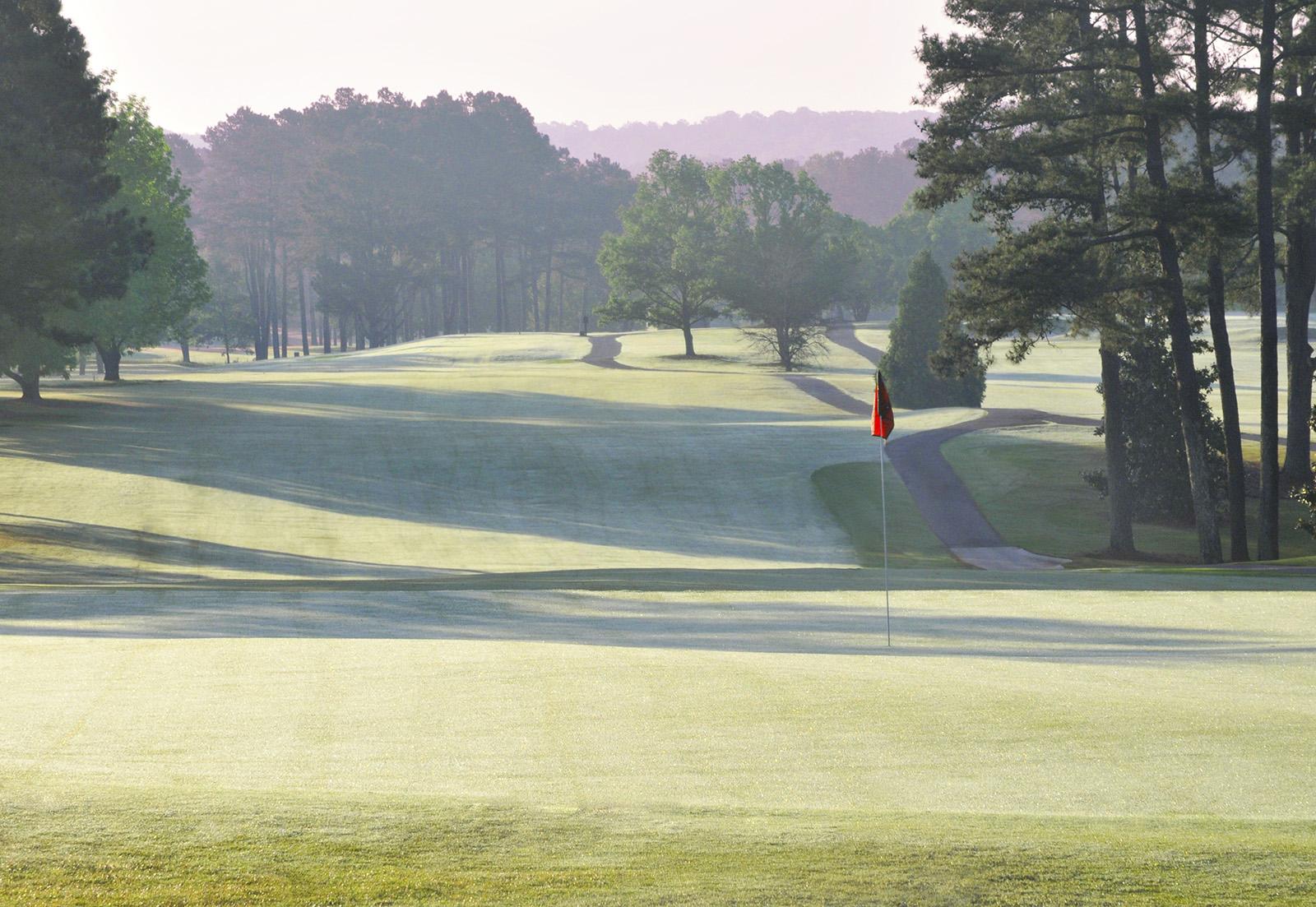 Hole Number 18UGA Golf CourseApril 2016