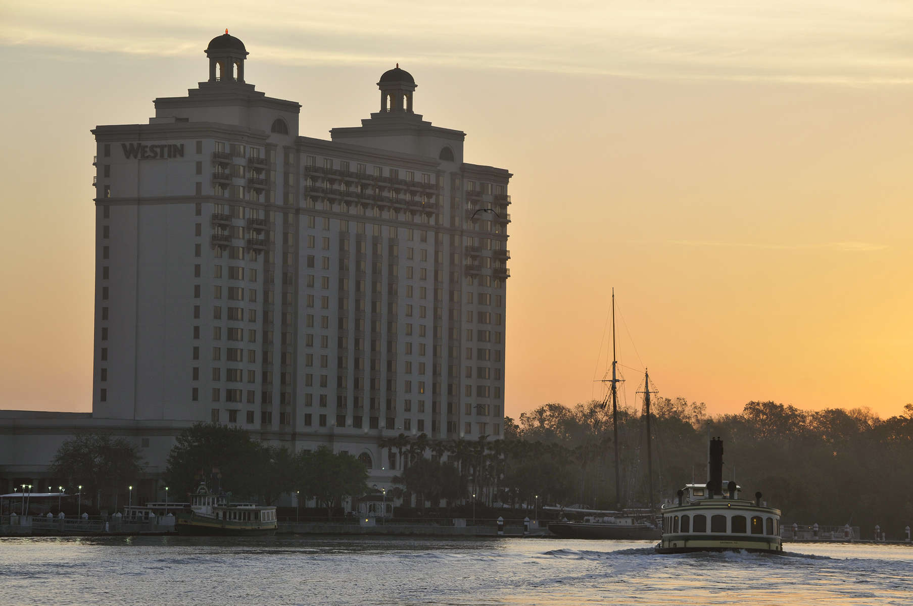 Westin ResortSavannah River viewSavannah GA