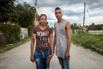 Marianao, Havana   Reggeaton dancers Raúl Ernesto Guerrero Rio, 22, and his girlfriend Rachel, 21,  pose for a portrait in the Marianao municipality. Reggeaton music and its fashion influence are hugely popular in Cuba.